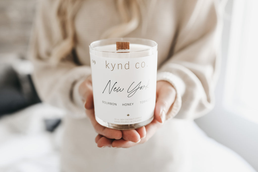 New York - Soy Coconut Candle - Kynd Co