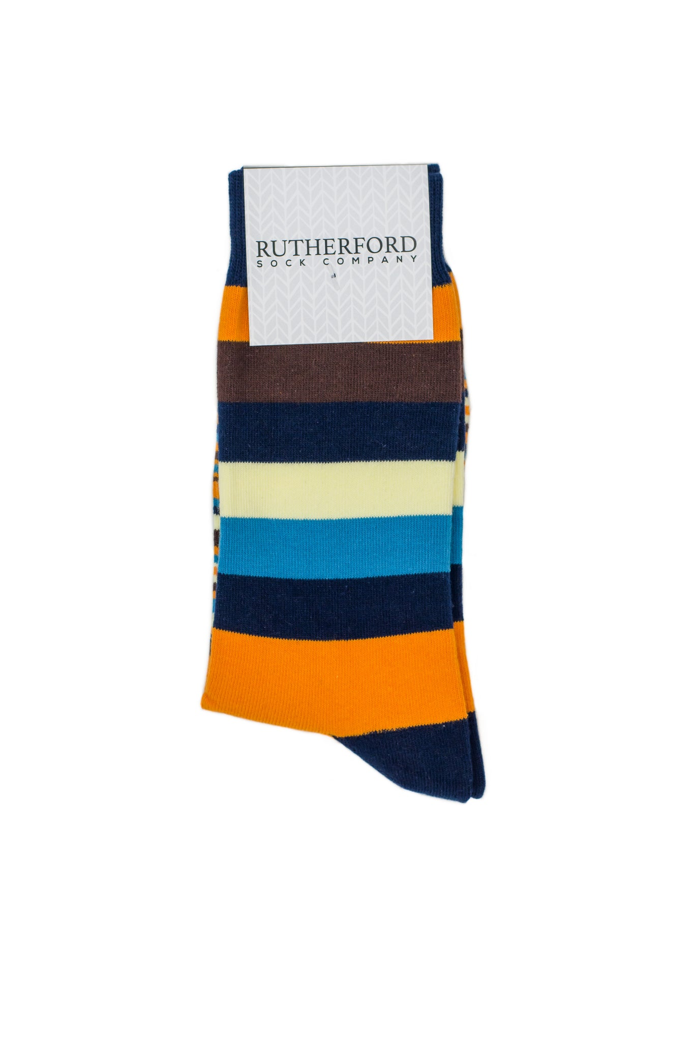 The Multi Stripe - Rutherford Sock Co.