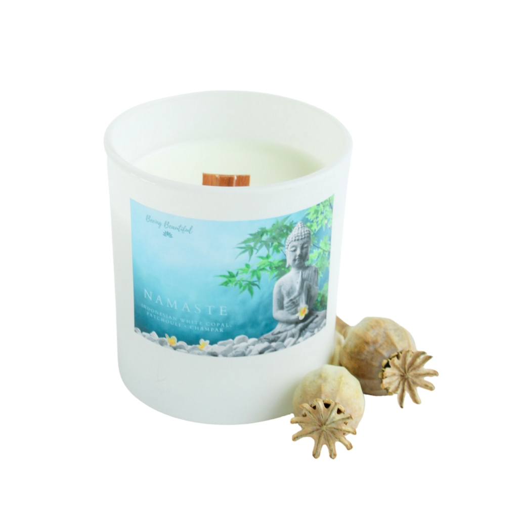 Namaste Soy Candle - Beeing Beautiful