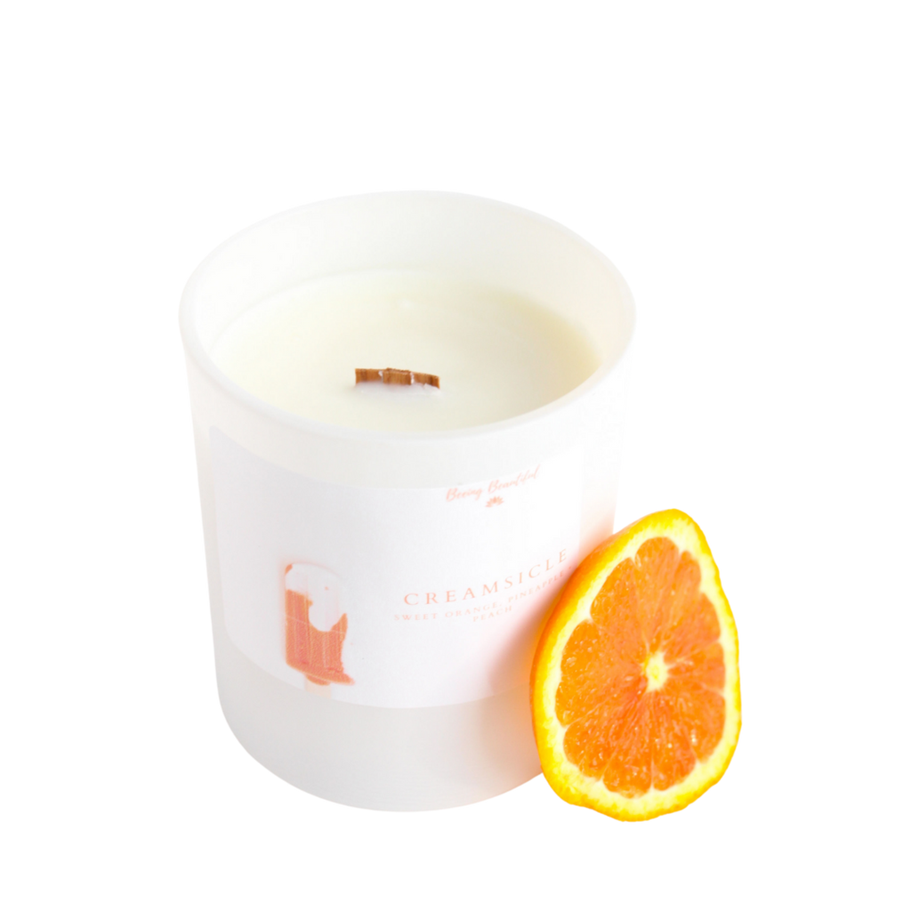 Beeing Beautiful - Creamsicle Soy Candle