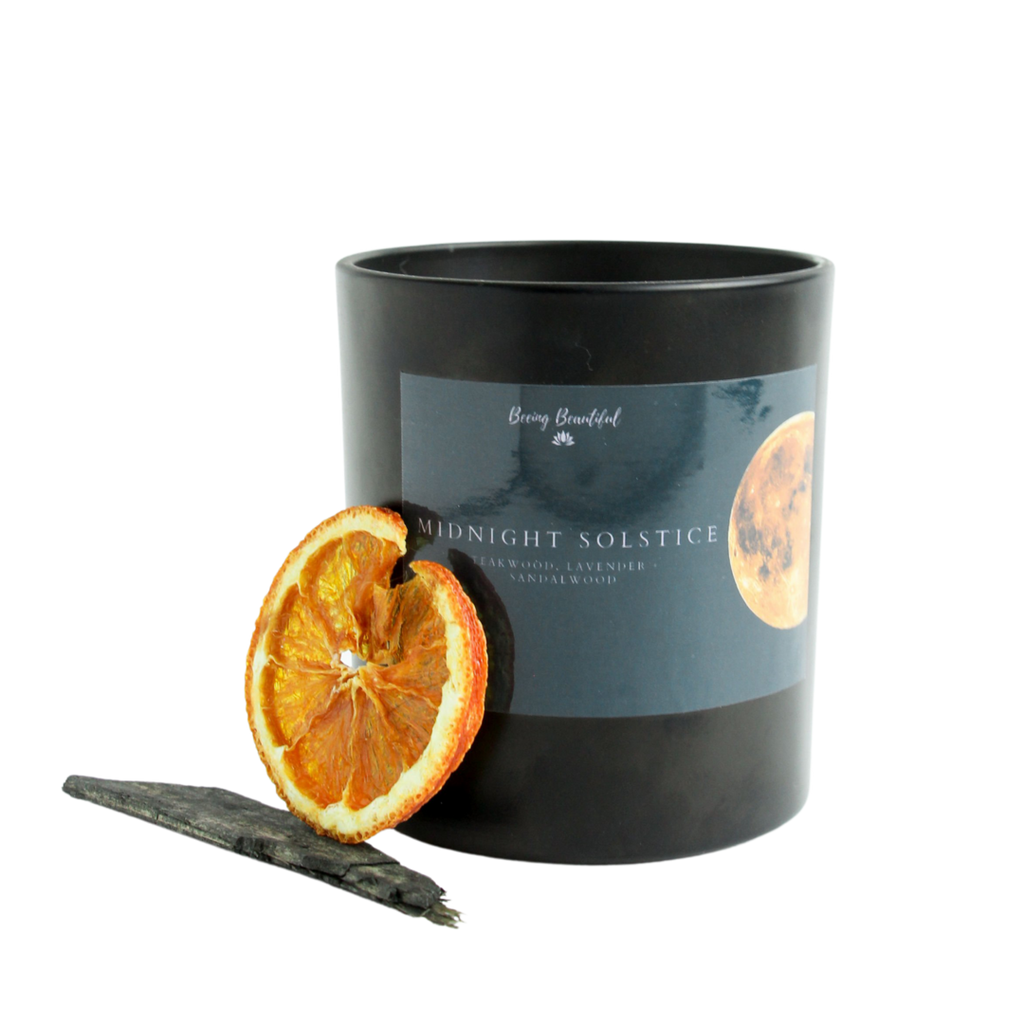 Midnight Solstice  Soy Candle - Beeing Beautiful