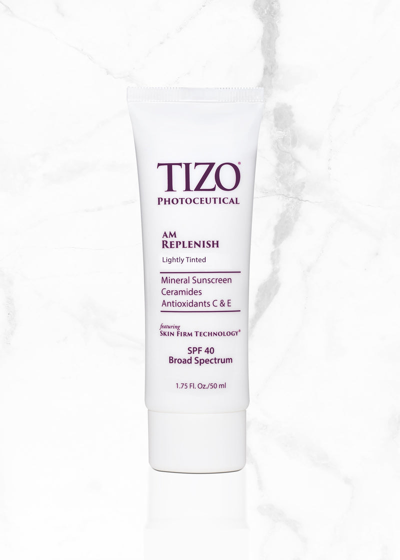 TIZO® AM Replenish Lightly Tinted SPF 40
