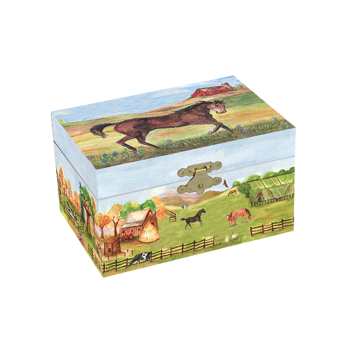 Country Horse <span>Small Music Box</span>
