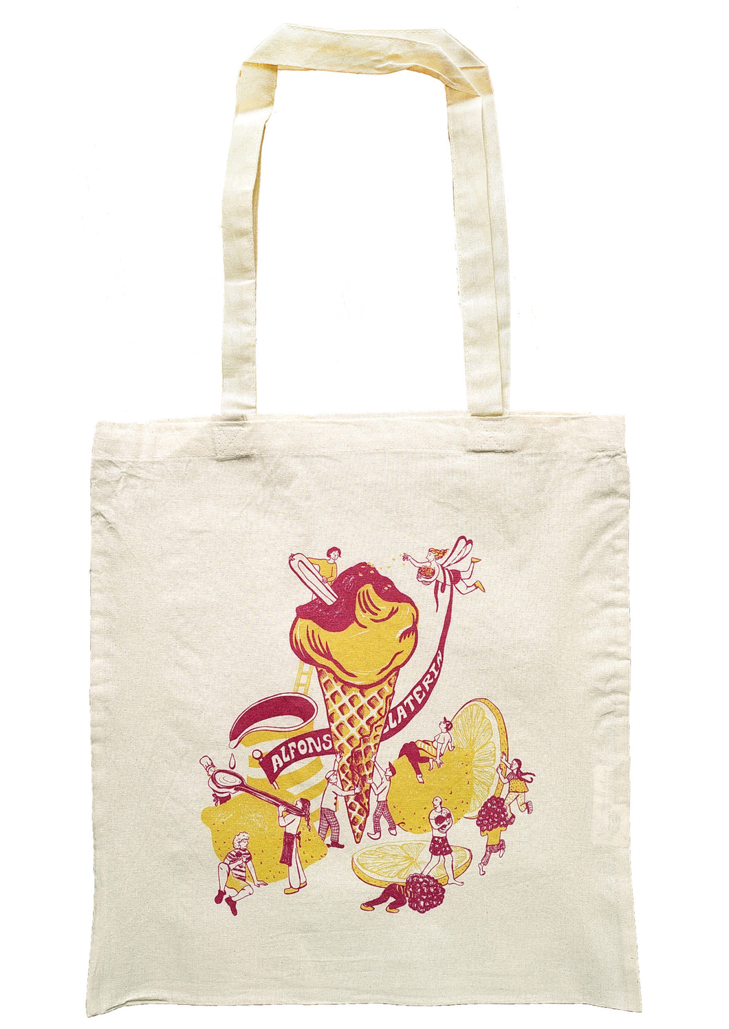 Alfonso Tote Bag - Ice Cream