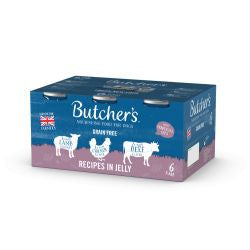 Butchers Meaty Recipe 6 Pack - Pets Fayre