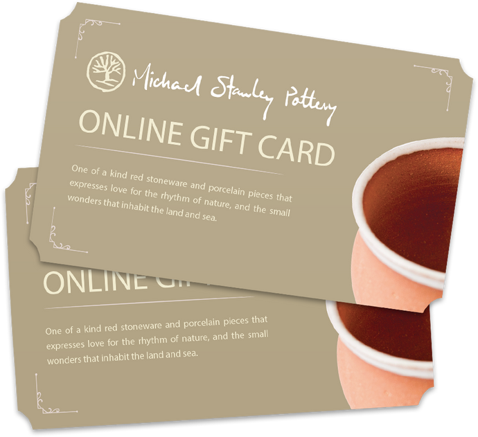 Michael Stanley Pottery Gift Card