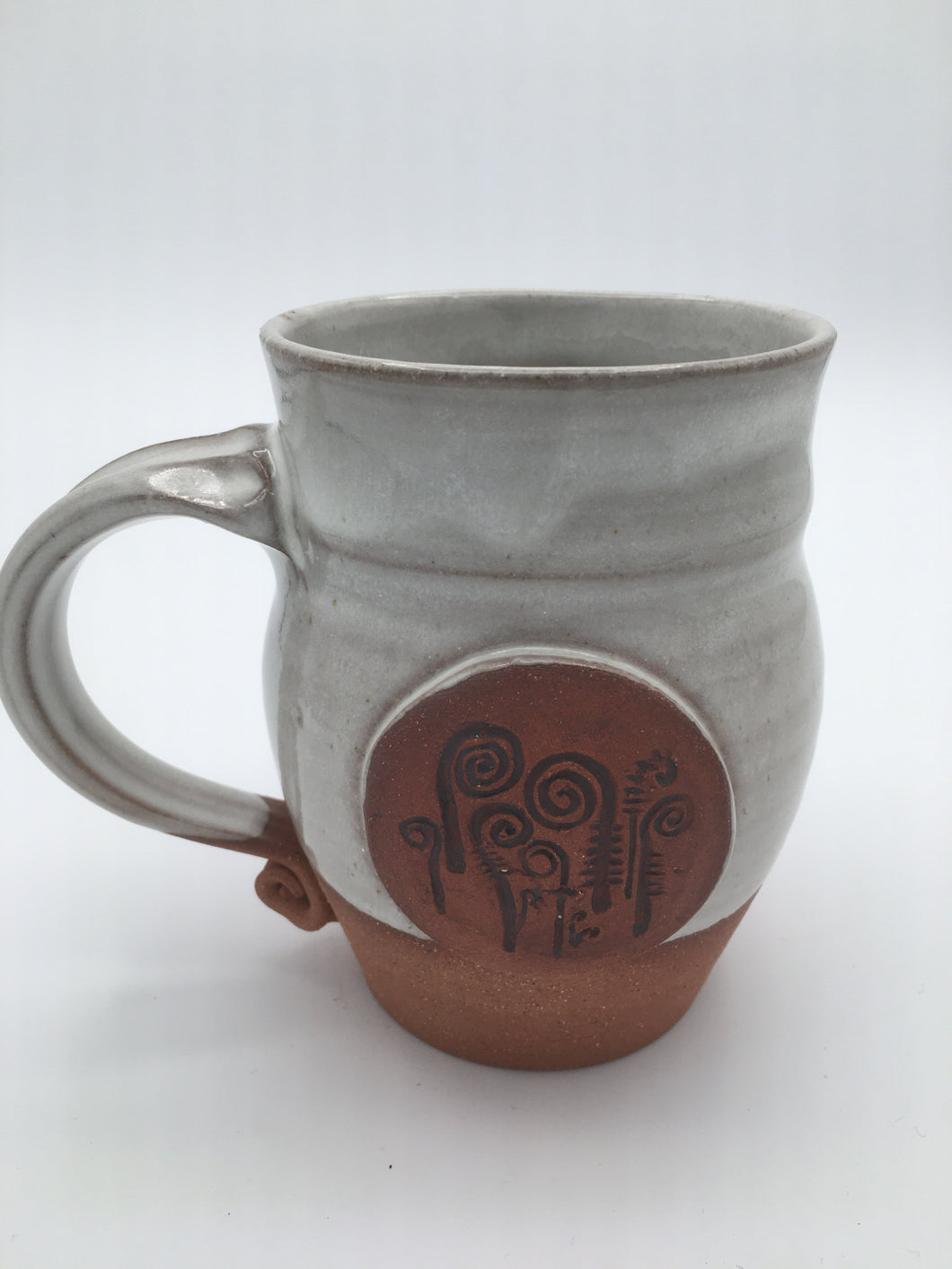Fiddlehead stamp mug