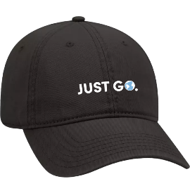 Just Go Hat - Black