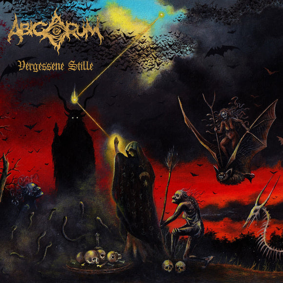 ABIGORUM - Vergessene Stille LP (GOLD) (PREORDER)