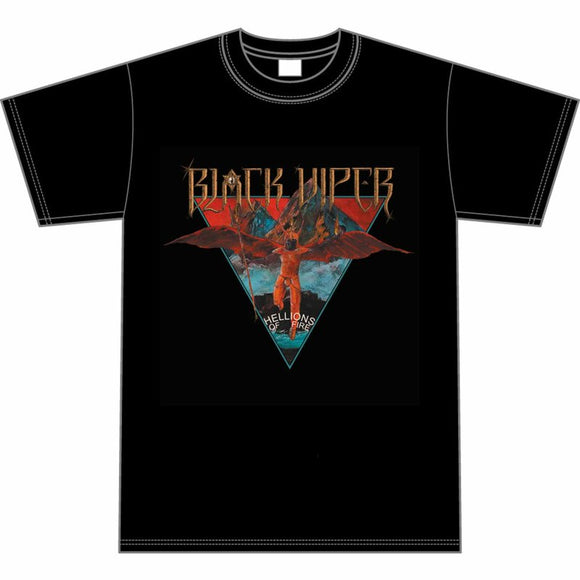 BLACK VIPER - Hellions of Fire T-SHIRT