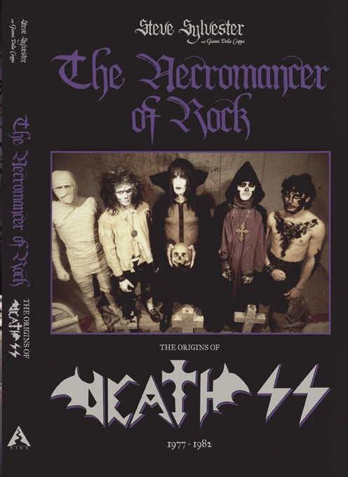 DEATH SS - The Necromancer of Rock - The Origins of Death SS (1977-1982) BOOK (PREORDER)