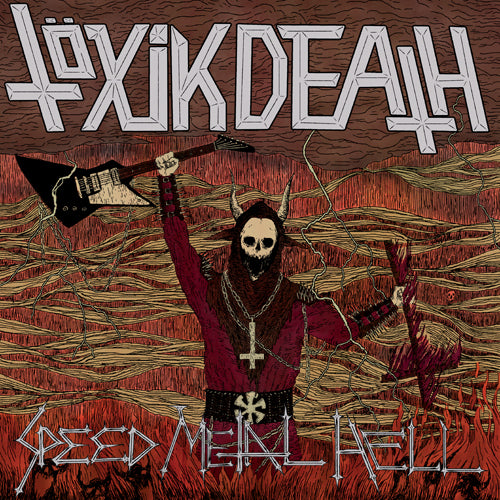 TÖXIK DEATH - Speed Metal Hell LP