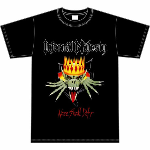 INFERNAL MAJESTY - None Shall Defy T-SHIRT