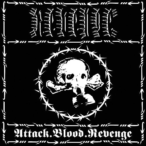 REVENGE - Attack.Blood.Revenge LP (CLEAR)