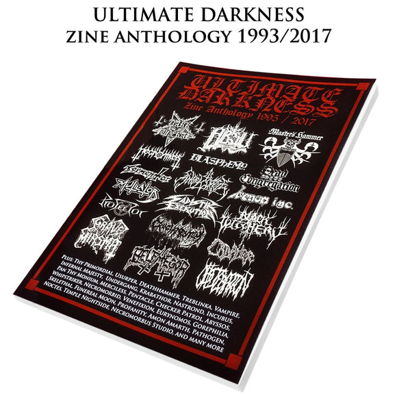 ULTIMATE DARKNESS - Zine Anthology BOOK