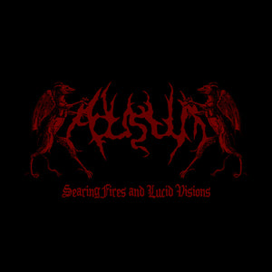 ADUSTUM - Searing Fires and Lucid Visions CD