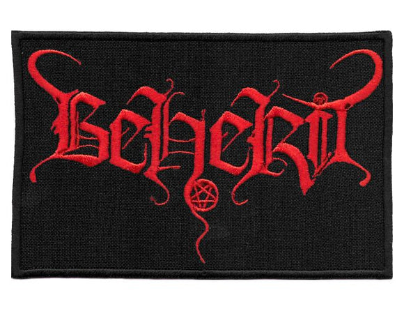 BEHERIT - Logo PATCH
