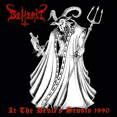 BEHERIT - At The Devil's Studio 1990 LP