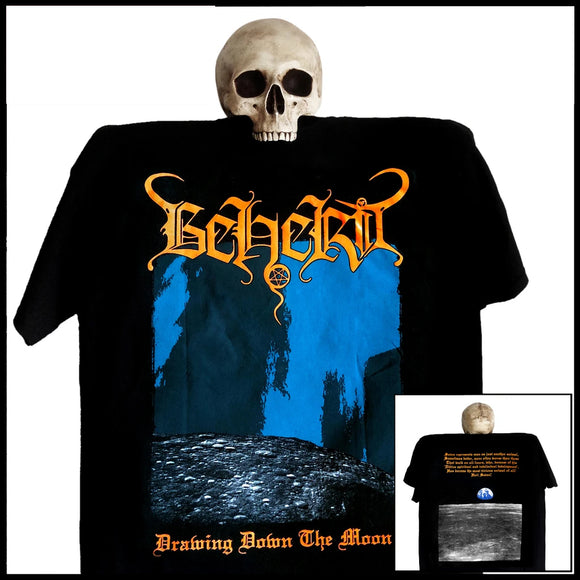 BEHERIT - Drawing Down The Moon T-SHIRT