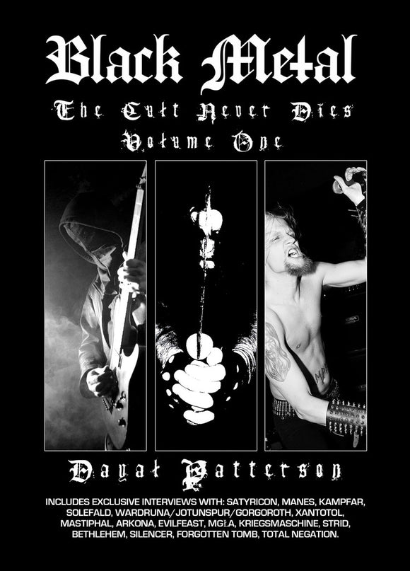 BLACK METAL - The Cult Never Dies Vol. 1 BOOK