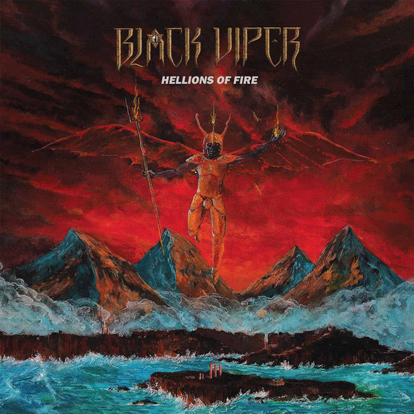 BLACK VIPER - Hellions Of Fire LP+10