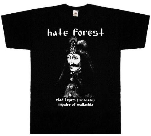 HATE FOREST - Vlad Tepes T-SHIRT