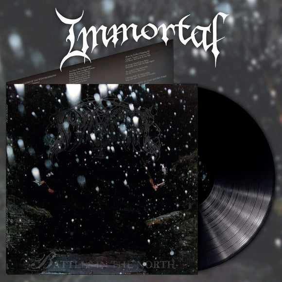 IMMORTAL - Battles In The North LP (PREORDER)