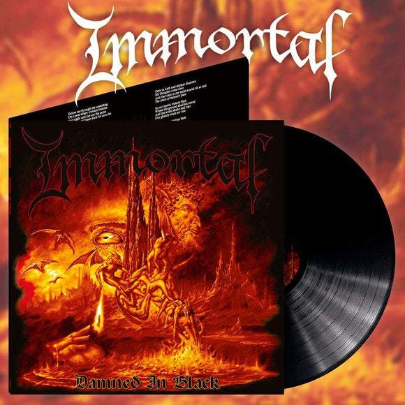 IMMORTAL - Damned In Black LP (PREORDER)