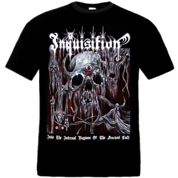INQUISITION - Into The Infernal Regions Of The Ancient Cult T-SHIRT