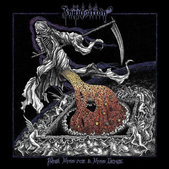 INQUISITION - Black Mass For A Mass Grave 2LP (PURPLE) (PREORDER)