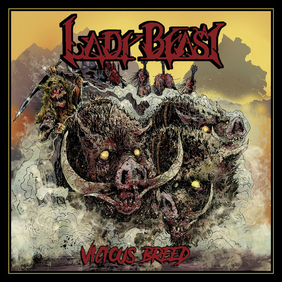 LADY BEAST - Vicious Breed LP
