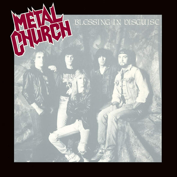 METAL CHURCH - Blessing In Disguise LP