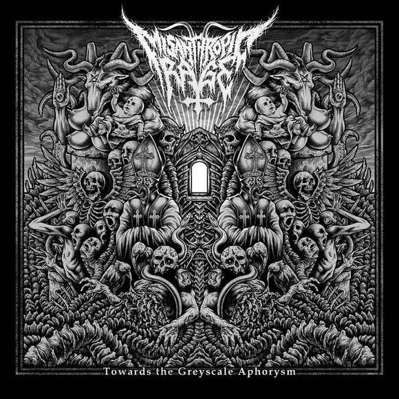 MISANTHROPIC RAGE - Towards the Greyscale Aphorysm CD