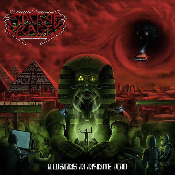 SACRAL RAGE - Illusions in Infinite Void CD