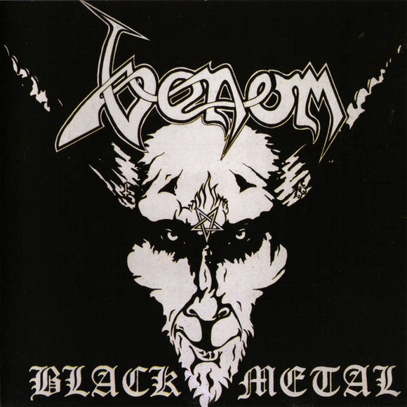 VENOM - Black Metal CD *