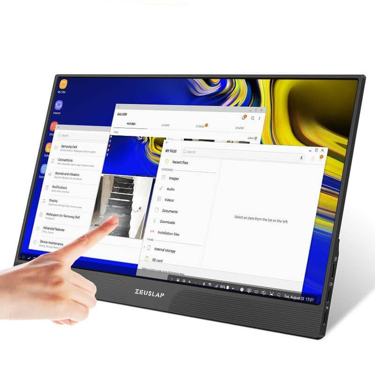Portable Touch monitor HDMI-compatible