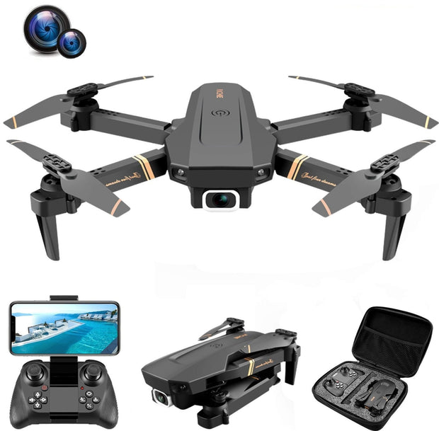Dual Camera Real-time Wide Angle Drone