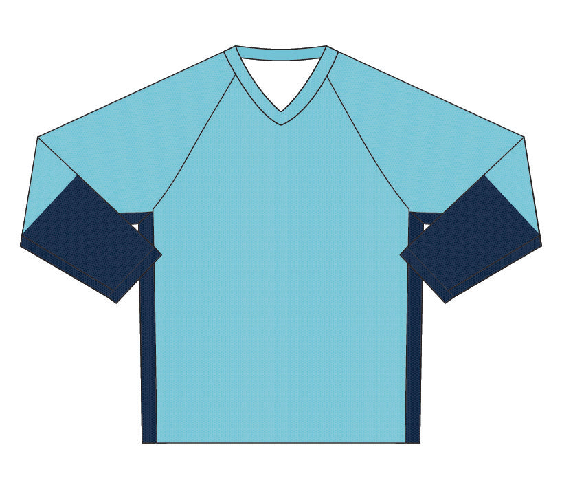 Load image into Gallery viewer, Female Downhill Jersey | Two-Tone Blue