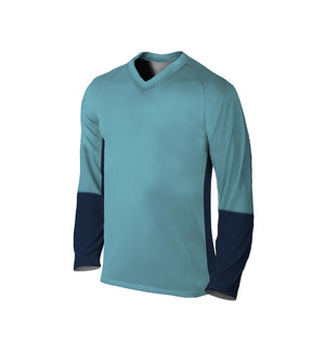 Female Downhill Jersey | Two-Tone Blue
