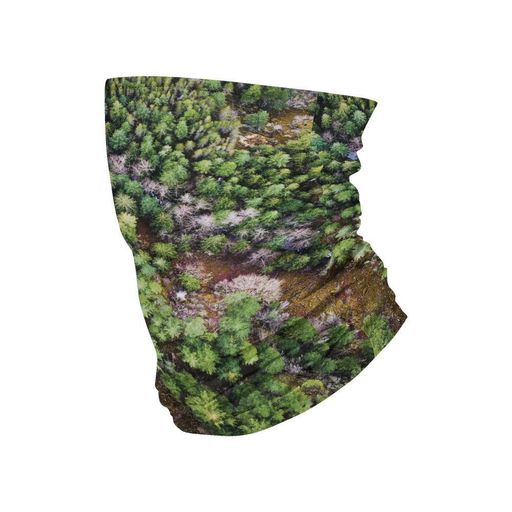 3PLY Filter Gaiter - Green Trees | JB Collection