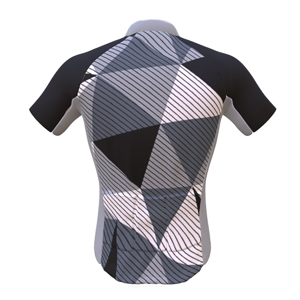 Male Dragon Boat Performance Jersey | Short Sleeve Geometric Design