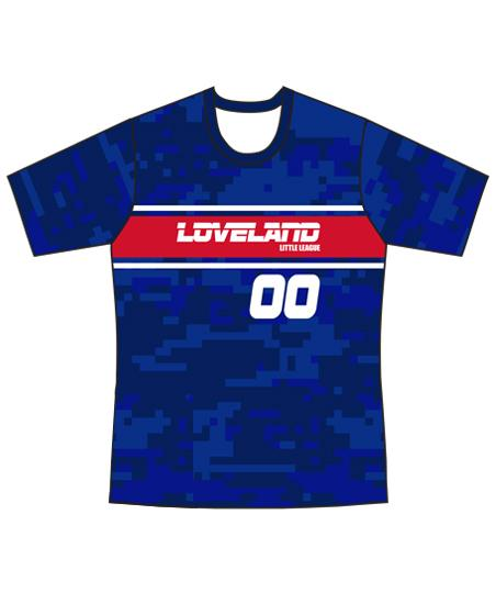 Loveland 2019 BLUE 281 - Youth Tech Tee Jersey