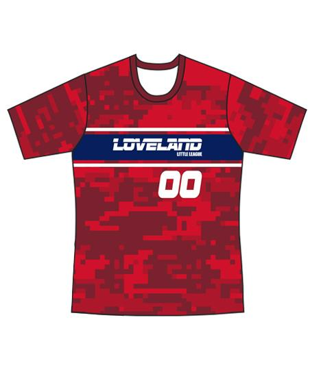Loveland 2019 Red 188 - Youth Tech Tee Jersey