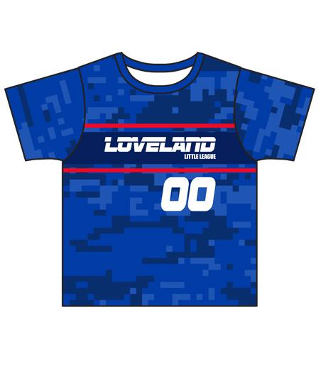Loveland 2019 BLUE 293 - Youth Tech Tee Jersey