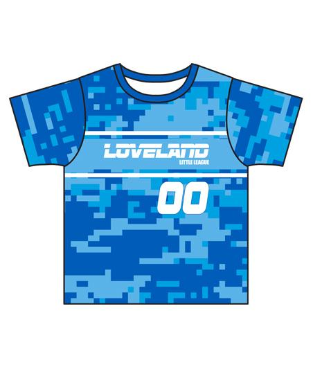 Loveland 2019 Royal Blue 300 - Youth Tech Tee Jersey
