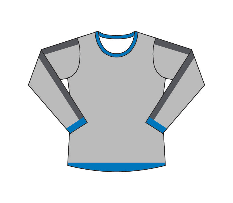 Load image into Gallery viewer, ATAC Crewneck Sweatshirt | Grey Stipes