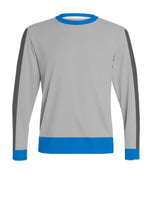 ATAC Crewneck Sweatshirt | Grey Stipes