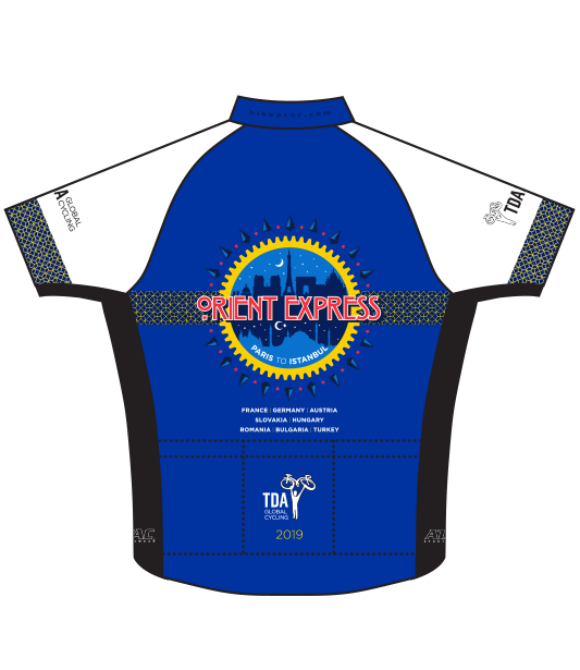 TDA ORIENT EXPRESS - Cycling Jersey - Short Sleeve