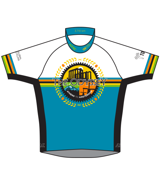 TDA - THE ODYSSEY_Cycling Jersey - Short Sleeve