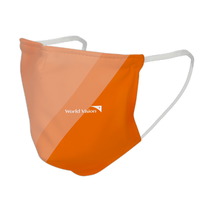 World Vision 3Ply Mask | Two-tone